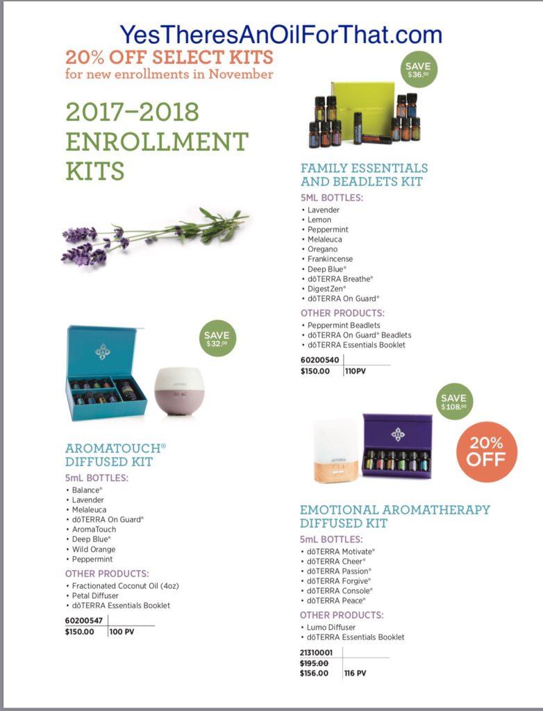 November Enrollment Kit Special