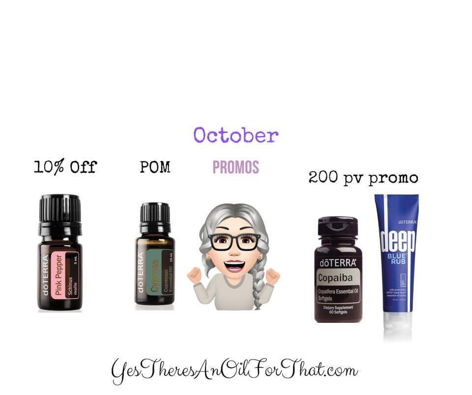 October 2021 Promos